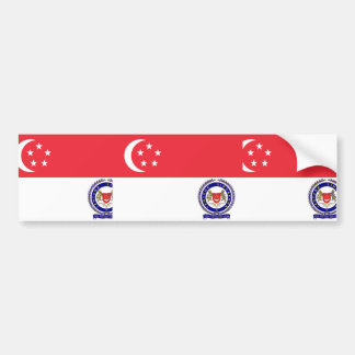 Singapore Armed Forces Sierra Leone Bumper Stickers
