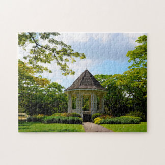 Singapore Botanical Gardens. Puzzle