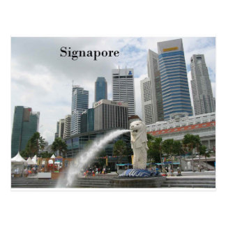 singapore (by St.K) Postcard