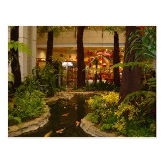 Singapore Changi Airport Postcard