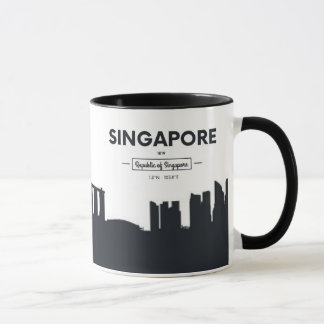 Singapore, China | City Coordinates Mug
