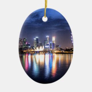 Singapore! Christmas Ornament