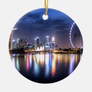 Singapore! Christmas Ornament