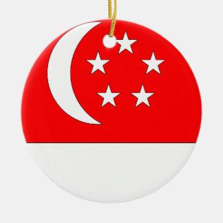 Singapore Christmas Ornament