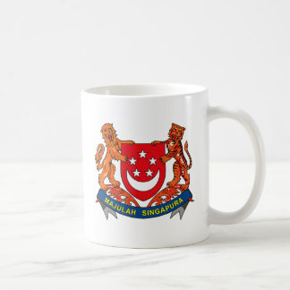Singapore Coat of Arms Mug