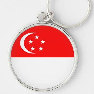 singapore country flag nation symbol key ring