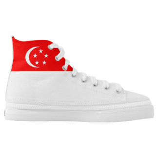 Singapore country flag symbol nation high tops