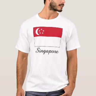 Singapore Flag Design T-Shirt