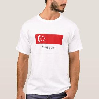 Singapore flag souvenir tshirt