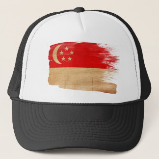 Singapore Flag Trucker Hat