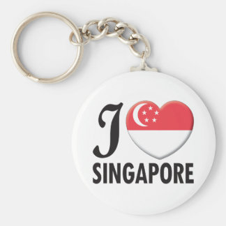 Singapore Love Key Ring