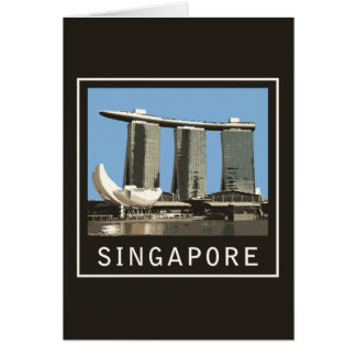 Singapore Marina Bay Sands Card