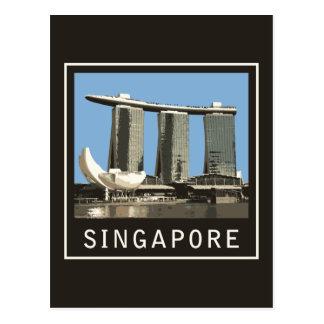 Singapore Marina Bay Sands Postcard