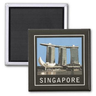 Singapore Marina Bay Sands Square Magnet