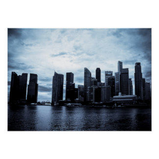 Singapore Marina Poster