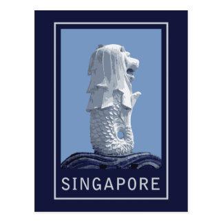 Singapore Merlion Postcard