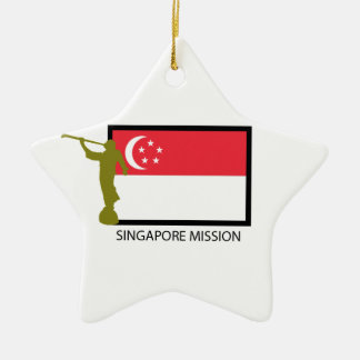 SINGAPORE MISSION LDS CTR CHRISTMAS ORNAMENT