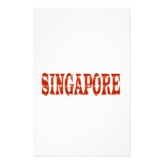 SINGAPORE: National Pride n celebraTING DIVERSITY Stationery Paper