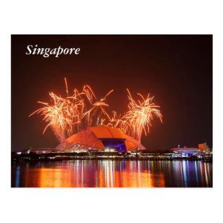 Singapore National Stadium Postcard