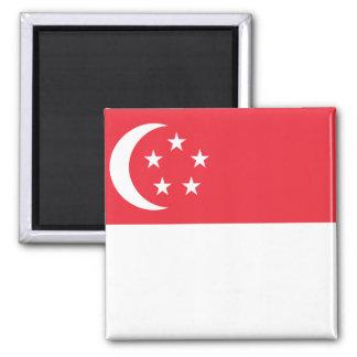 Singapore National World Flag Magnet