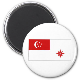 Singapore Naval Ensign Magnets