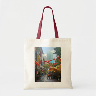 Singapore - Old and New Budget Tote Bag