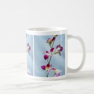 Singapore orchid flowers coffee mug
