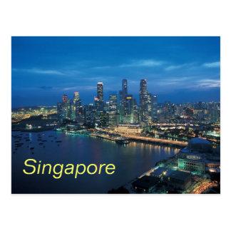 Singapore postcard