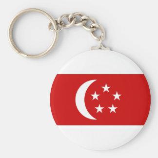 Singapore President Flag Keychains