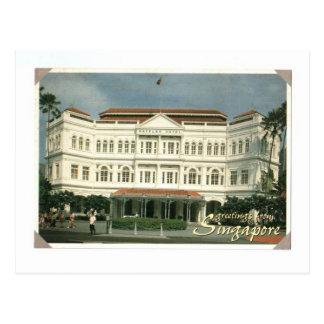 SINGAPORE RAFFLES HOTEL POSTCARDS