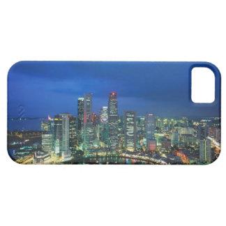 Singapore Skyline at night, Singapore iPhone 5 Case