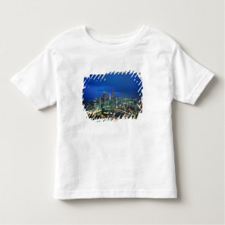 Singapore Skyline at night, Singapore Toddler T-Shirt