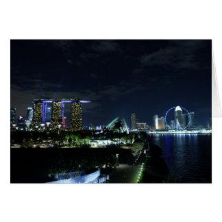 Singapore Skyline Cards