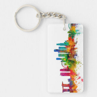 Singapore Skyline Key Ring