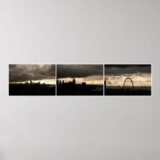Singapore Skyline No1 Poster