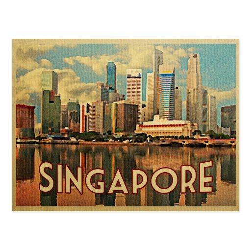 Singapore Skyline Post Cards