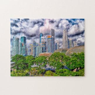 Singapore Skyscrapers . Puzzle