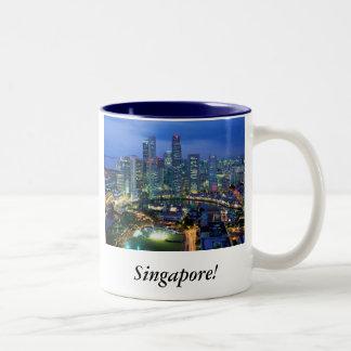 Singapore! Two-Tone Coffee Mug