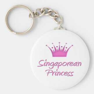 Singaporean Princess Key Ring