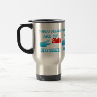 Singaporeans are my Homies Coffee Mugs