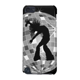 Singer & Dancer Silhouette On Disco Ball iPod Touch (5th Generation) Cases