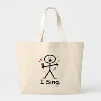 Singer Large Tote Bag