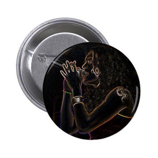 singer music round button