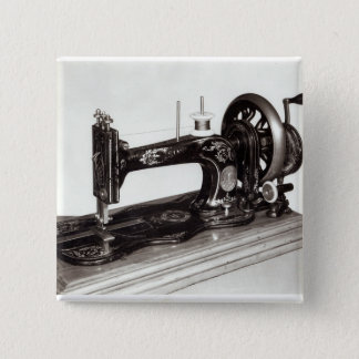 Singer 'New Family' sewing machine, 1865 15 Cm Square Badge