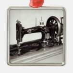 Singer 'New Family' sewing machine, 1865 Christmas Ornament