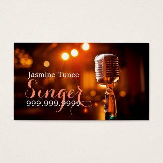 Singer, Performer, Music Business Card