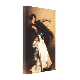 Singer Sargent Spanish Dancer Canvas Print