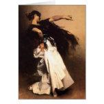 Singer Sargent Spanish Dancer Card