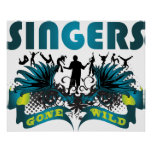 Singers Gone Wild Posters