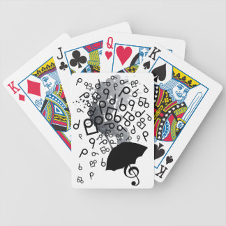 Singin' in the Rain Bicycle Playing Cards
